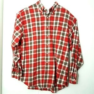 Brooks Brothers Mens Cotton Flannel Shirt Size XL